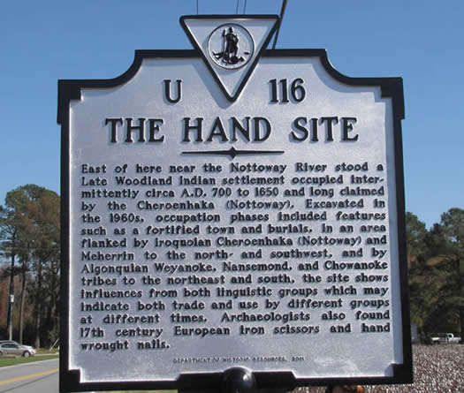 This image has an empty alt attribute; its file name is HandSitemarker.jpg